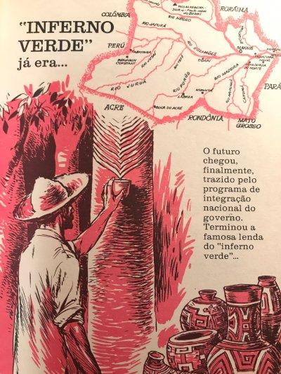 Quatro Cinco Um: a revista dos livros - Ditadura celebrou a destruição da  floresta em campanhas